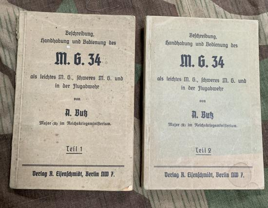 MG34 R.Butz Manuals Parts 1&2